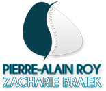 Pierre Alain Roy et Zacharie Braiek